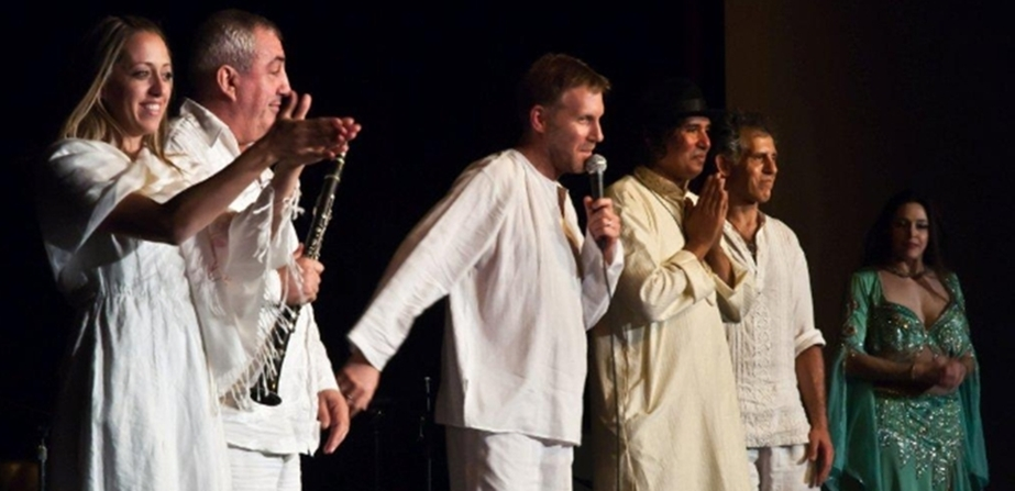The Yuval Ron Ensemble taking our bows to a standing ovation in Minnesota